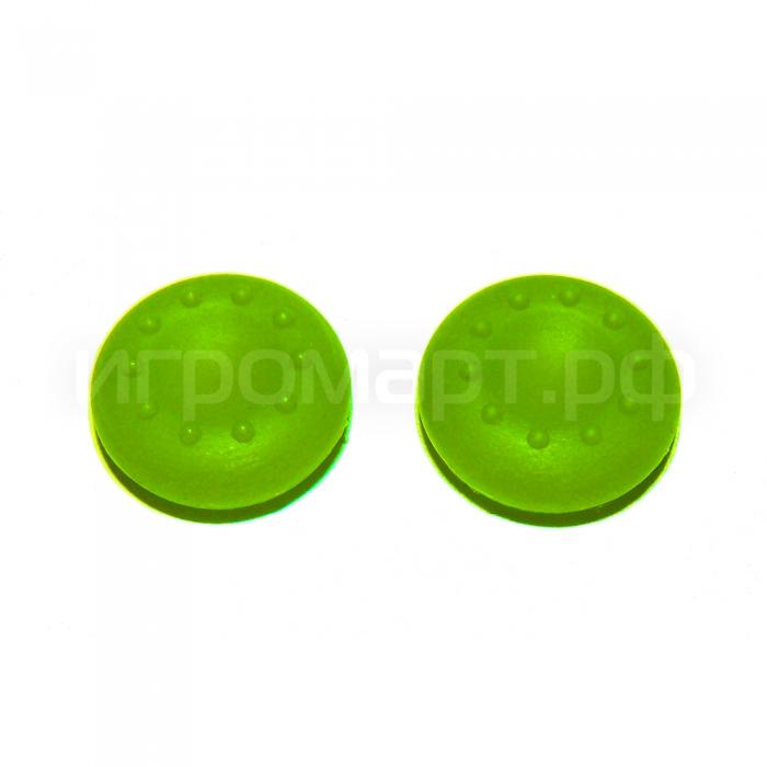 Защитные насадки Thumb Grips для геймпадов Green Зеленые