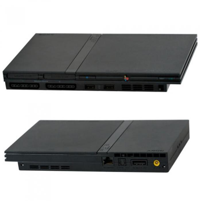 Sony PlayStation 2 (черная)