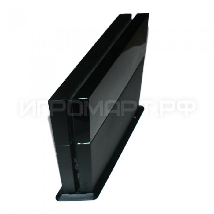 Подставка для Playstation 4 Vertical stand вертикальная черная (ps4)