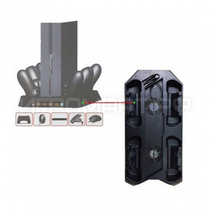 Подставка для Playstation 4 Super Console Charging Dock (ps4)