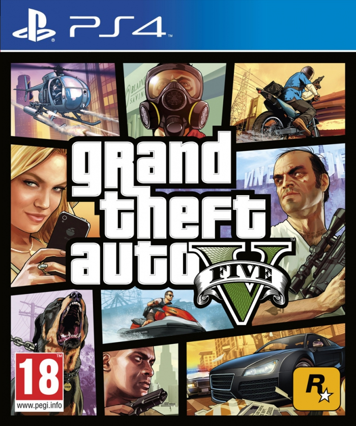 Grand Theft Auto 5 (ps4) (Уценка)