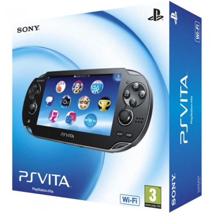 Sony PlayStation Vita (черная)