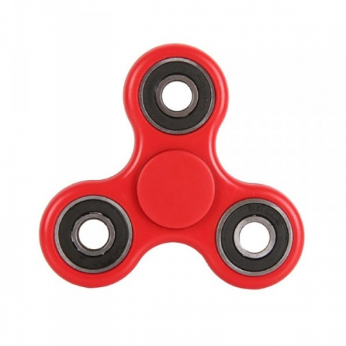 Spinner Спиннер крутилка антистресс треугольник питчер (Красный)