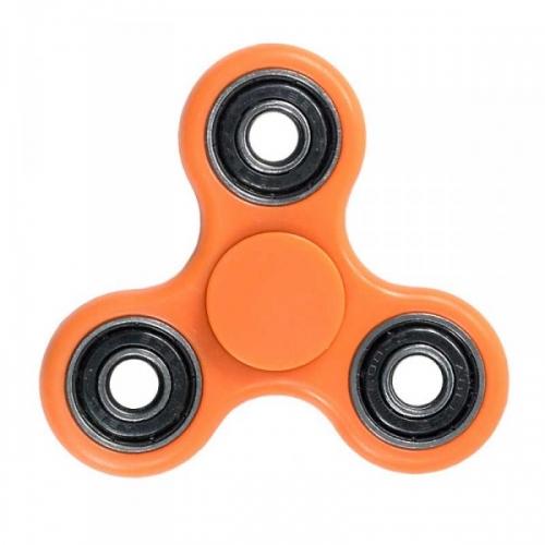 Spinner крутилка антистресс треугольник питчер (Оранжевый)