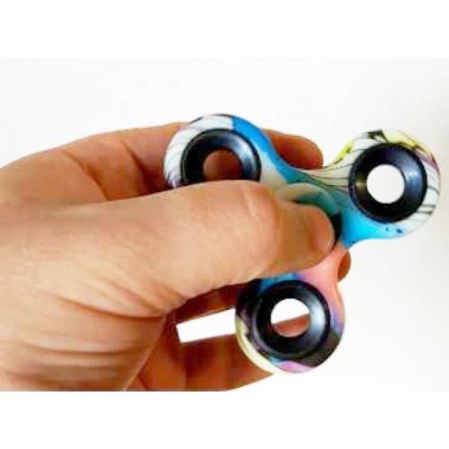 Spinner Спиннер крутилка керамический (Абстракция полосы)