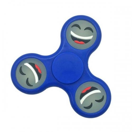 Spinner Спиннер крутилка смайл (Синий)