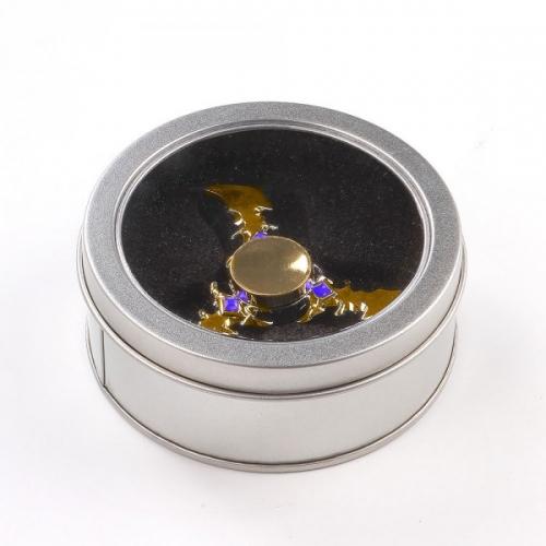 Spinner Спиннер крутилка треугольник металлический Ножи (Золотистый)
