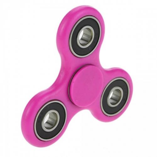 Spinner крутилка антистресс треугольник питчер (Розовый)