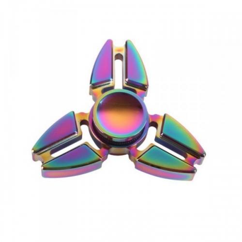 Spinner Спиннер крутилка металлический треугольник техно (Градиент)