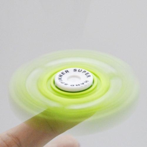 Spinner Спиннер крутилка Волчок три лопасти (Зеленый)