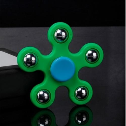 Spinner Спиннер крутилка пятиконечный (Зеленый)