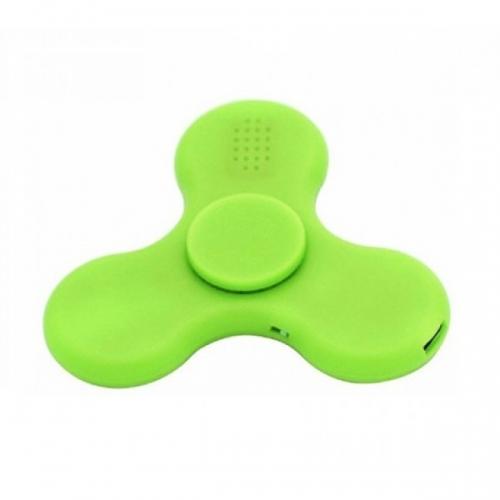 Спиннер с LED подсветкой светящийся и с Bluetooth (Зеленый)