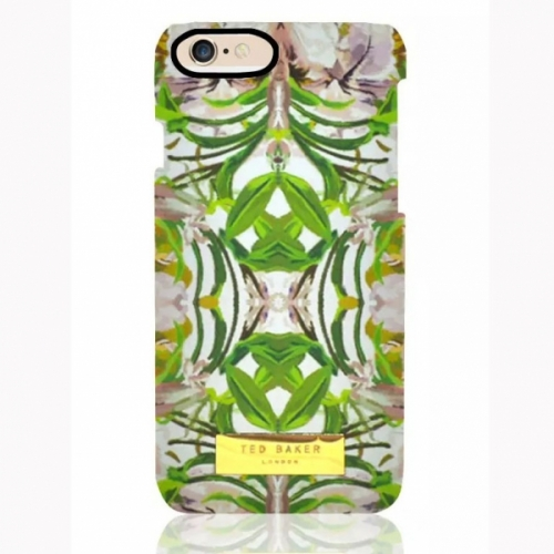 Пластиковый Чехол-накладка Ted Baker для iPhone 6 Листья