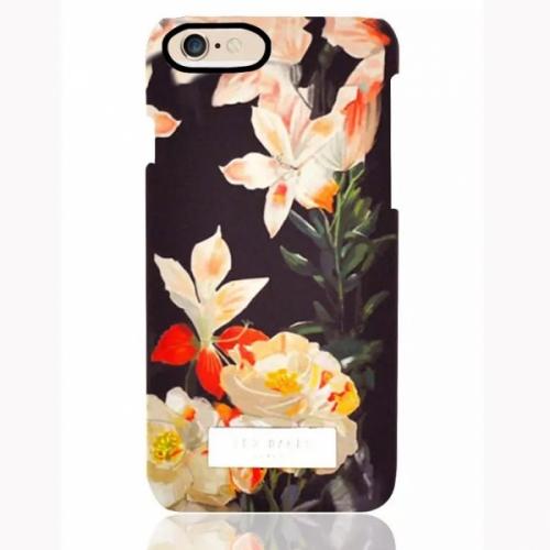Пластиковый Чехол-накладка Ted Baker для iPhone 6 Лилии