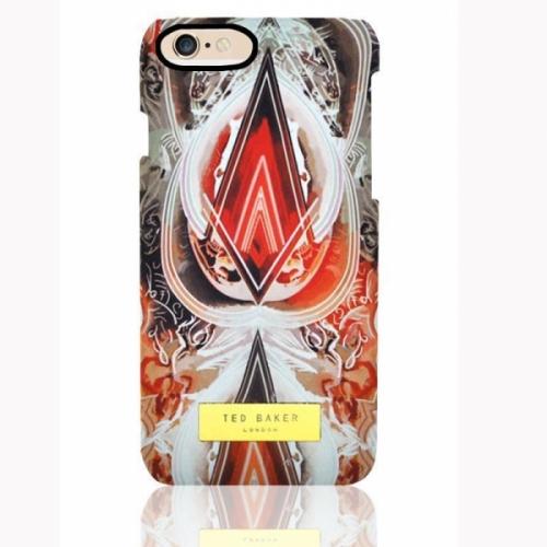 Пластиковый Чехол-накладка Ted Baker для iPhone 6 Орнамент