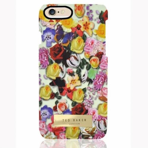 Пластиковый Чехол-накладка Ted Baker для iPhone 6 Розы