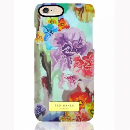 Пластиковый Чехол-накладка Ted Baker для iPhone 6 Цветы