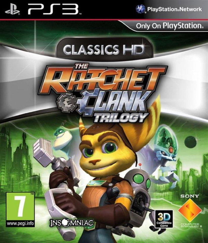 The Ratchet Clank trilogy classics HD (ps3)