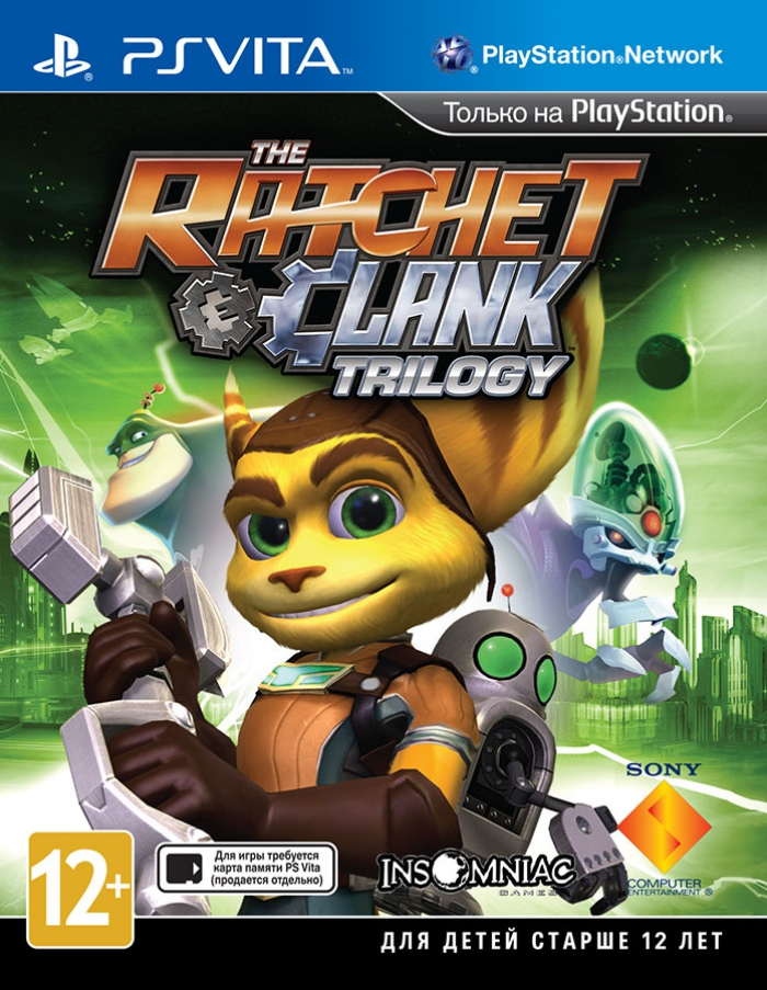 The Ratchet Clank trilogy classics HD (ps vita)