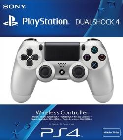 Sony Dualshock 4 Wireless Controller беспроводной Геймпад Silver Серебряный (ps4)