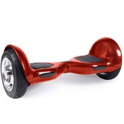 Гироскутер Smart Balance Wheel Offroad 10 Carbone Red Карбон Красный