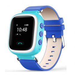 Умные Часы с GPS Smart Watch SUNY Q60 Blue Синие