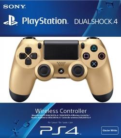Sony Dualshock 4 Wireless Controller беспроводной Геймпад Gold Золотой