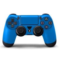 Наклейка на Dualshock 4 Monochrome Blue Синяя (ps4)