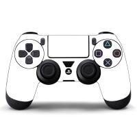 Наклейка на Dualshock 4 Monochrome White Белая (ps4)