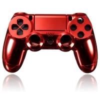 Корпус для Dualshock 4 Original Chrome Red (Хромированный Красный) (ps4)