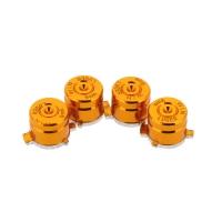 Кнопки для Dualshock 4 Bullet Aluminum Gold Алюминиевые Золотые (ps4)
