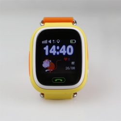 Умные Часы с GPS Smart Watch NIKY Q80 Yellow Желтые (Цветной и Сенсорный Дисплей)