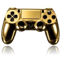Корпус для Dualshock 4 Original Chrome Gold (Хромированный Золотой) (ps4)