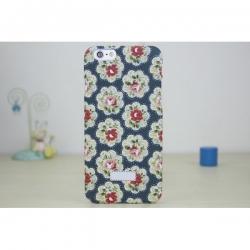 Пластиковый Чехол-накладка Кэт Кидстон для iPhone 6 Розы на синем