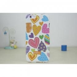 Пластиковый Чехол-накладка Кэт Кидстон для iPhone 6 Сердечки