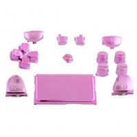 Набор кнопок для Dualshock 4 Original Chrome Pink (Хромированные Розовые) (Playstation 4) (ps4)