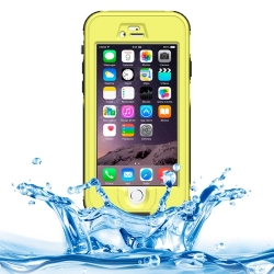Водонепроницаемый и противоударный чехол Armor из ABS пластика для iPhone 6 (жёлтый)