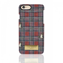 Пластиковый Чехол-накладка Ted Baker для iPhone 6 Шотландский килт