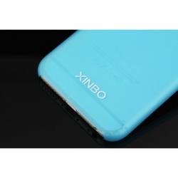 Пластиковый Чехол-накладка Xinbo 0,5 мм для iPhone 6 Голубой