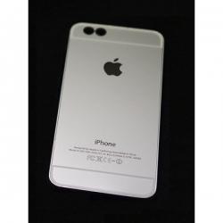 Пластиковый Чехол-накладка Superslim для iPhone 6 Серебро