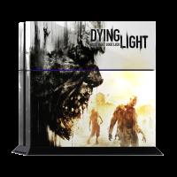 Dying Lights - Наклейка на PlayStation 4 (ps4)