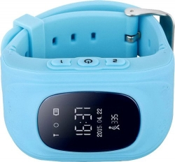 Умные Часы с GPS Smart Watch Q50 Classic Blue Синие