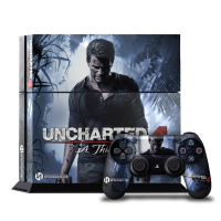 Uncharted 4 - Наклейка на PlayStation 4 (ps4)