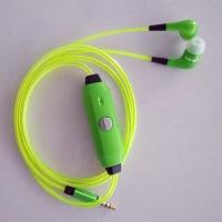 Светящиеся EL наушники GLOW Green Зеленые