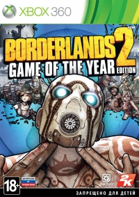 Borderlands 2 Game of the year (Xbox 360)