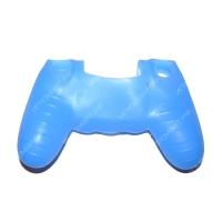 Чехол для Dualshock 4 Silicone Cover Blue Синий силиконовый (ps4)