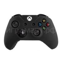 Чехол для геймпада Xbox One Silicone Cover Black черный силиконовый