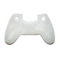 Чехол для Dualshock 4 Silicone Cover White белый силиконовый (ps4)