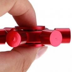 Spinner Спиннер крутилка металлический шестиконечный (Красный)