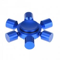 Spinner Спиннер крутилка металлический шестиконечный (Синий)